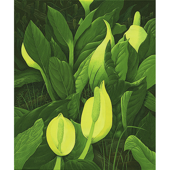 NaturesNursery 20x24in Acrylic, $1400 Framed