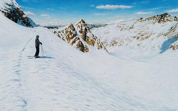Above Blackcomb Glacier 36x24 Acrylic $2900