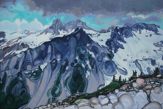 Mount Fee 45x30in Acrylic $2600