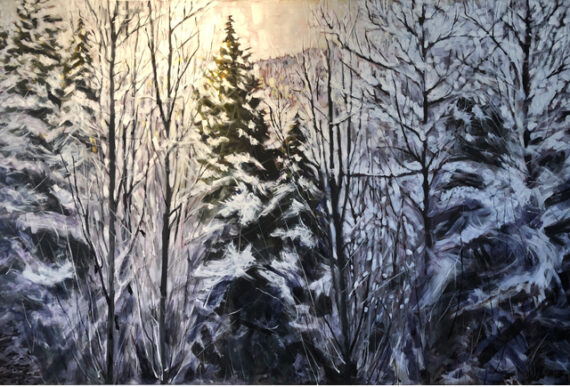 Whistler Forest 72x48in Oil $3600