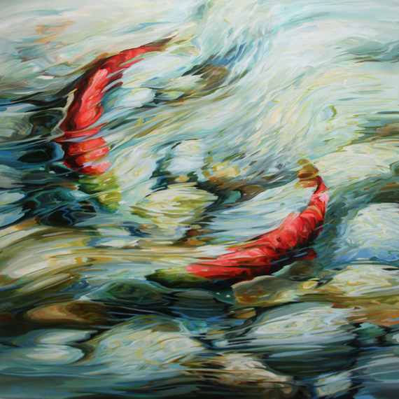 Spawning 36x36in Acrylic $2290