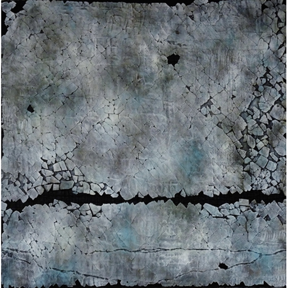 Slate Skies 36x36in Mixed Media $2500