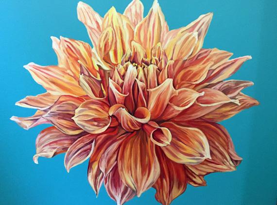 Flower 36x48in Oil $2000