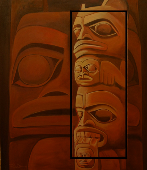 Red Cedar Radiance 40x48in Acrylic $3000 Framed