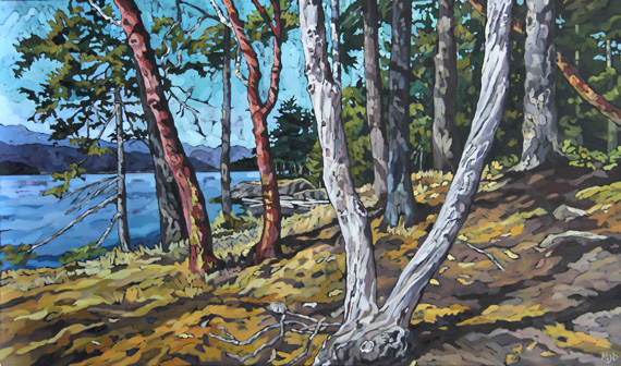 Cape Roger Curtis 60x36in Oil $6400