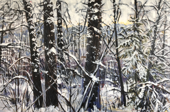 Whistler Forest II 60x40in Oil $3600