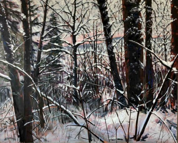 Whistler Forest III 60x48in Oil $4320