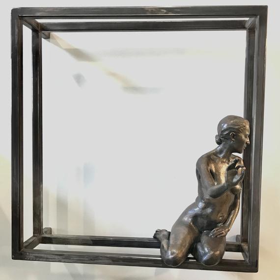 Held 20x20x9in Cast Bronze 1/1 $3950