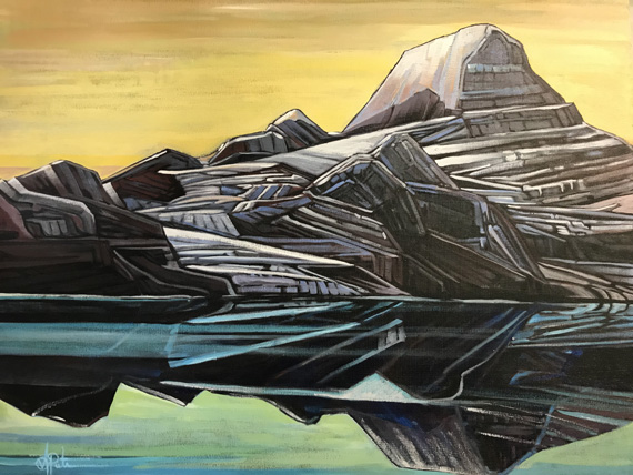 Reflections 30x24in Acrylic $700